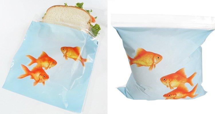 Goldfish sandwich bags