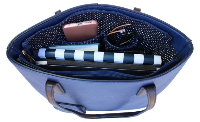 portovino wine handbag open hidden